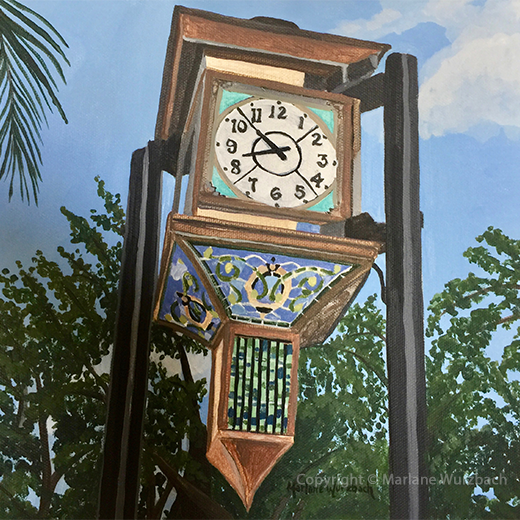 Clock at Five Points